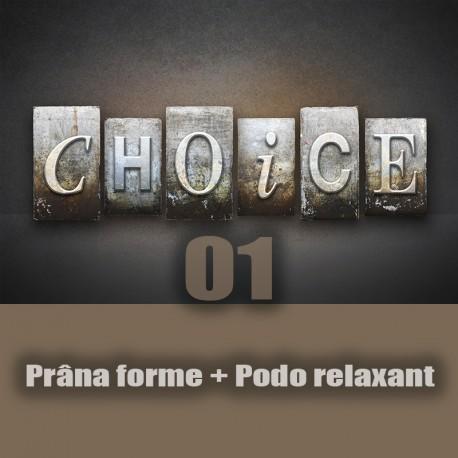 Prana forme + podo relaxant (the choice 01)